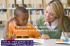 Improving the quality of learning for every student. visit us:www.gotedu.co.uk/StudentRegistration.aspx?From=Basic