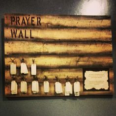 Our prayer wall serves as a canvas for our students to bring prayer requests before God but also to allow other students to agree with them in prayer.