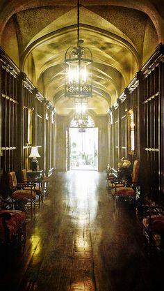 """132. Casa Loma Hallway"" By Billy Wilson"
