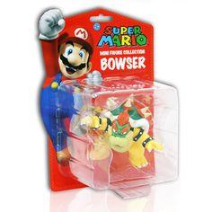 "Toy - Super Mario - Bowser - Mini Figurine - 3"" - Single (Nintendo)"