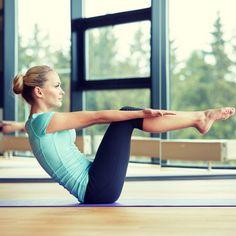 Η top άσκηση Pilates για δυνατό κορμό! (Ab series of 5 για γράμμωση στην κοιλιά!)