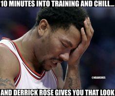 Funny Derrick Rose memes
