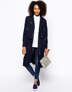 OBSESSED with this jacket by Monki; three coats in one!? If that's not cost per wear I don't know what is! http://asos.to/1mx7hFX