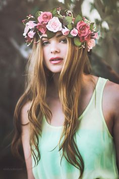 May Queen by Emily  Soto, via 500px