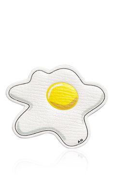 Chalk Capra Egg Sticker - Anya Hindmarch Sticker Collection - Preorder now on Moda Operandi