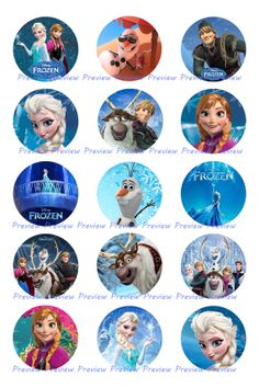 Frozen Disney Elsa Anna Olaf  Images  Princess by HerEtsyShop, $1.25