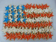 Flag of sugar cookies.