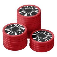 Pat014675d Poker Chips Set - custom gift ideas diy