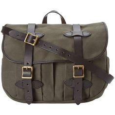Filson Medium Field Bag (Otter Green) Bags (13.070 RUB) ❤ liked on Polyvore featuring bags, handbags, otter green, man travel bag, travel handbags, water resistant purse, travel bag and green bag