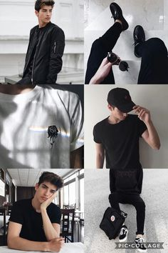 Aesthetic Rpg- Manu Rios Poses For Men, Boy Poses, Manu Rios Fernandez, Black Outfit Men, Bad Boy Aesthetic, Foto Casual, Boy Photography Poses, Gentleman Style, Mode Style
