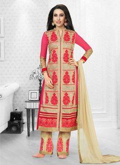 Karishma Kapoor Georgette Resham Work Salwar Suit