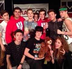 @Cameron Dallas @Nash Grier @Hayes Grier and Carter is it true that you guys are leaving Magcon?!?