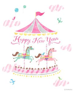 Happy New Year Art Print 8x10 by LittleThingsPrint on Etsy