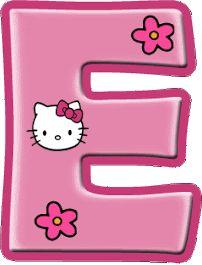 Alfabeto de Hello Kitty con letras grandes. | Oh my Alfabetos! Hello Kitty Rosa, Hello Kitty Themes, Pink Hello Kitty, Hello Kitty Invitations, Logo Online Shop, Hello Kitty Birthday Cake, Hello Kitty Imagenes, Disney Frames, Hello Kitty Crochet