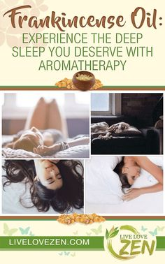 Frankincense Oil: Experience the Deep Sleep You Deserve with Aromatherapy