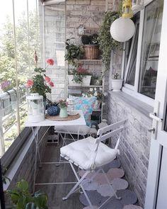 Enjoy the Four Seasons Outdoors with Glass Balcony Decoration – D … – Garden… Balkon – Home Decoration