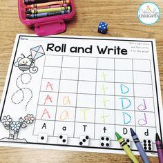 Hands On Alphabet Activities for Letter ID Intervention - Natalie Lynn Kindergarten