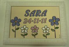 Cuadritos de ceramica personalizados www.flama-artesania.com
