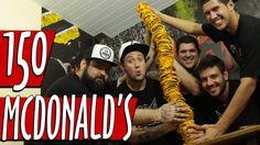 COMENDO 150 CAMADAS DE MCDONALD'S