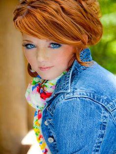 ♡ Beautiful In Red...♡✿⊱ Redheads ♥ ✿⊱╮♥ Lauren Nichols