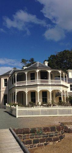 Mansion House Bay - Kawau Island, New Zealand