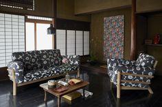 Modern Japanese Interior, Japanese Modern, Japanese House, Modern Interior, Japanese Style, Isetan, Marimekko, Couch, House Styles
