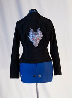 Amazing embroidery on a jacket!