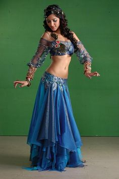 Ghagra Choli Designs 2012 Cute for Halloween! Lehenga Designs, Choli Designs, Belly Dancer Costumes, Belly Dancers, Dance Costumes, Halloween Costumes, Belly Dance Outfit, Tribal Belly Dance, Dance Oriental