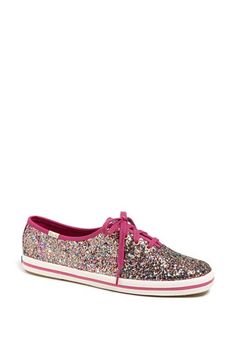 LOVE these glitter Kate Spade Keds