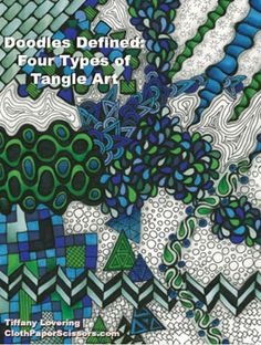 Doodles Defined: Four Types of Tangle Art