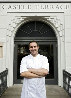 Chef Dominic Jack, Castle Terrace, Edinburgh