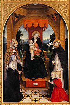 Giovenone Gerolamo: Virgin and Child with Saints