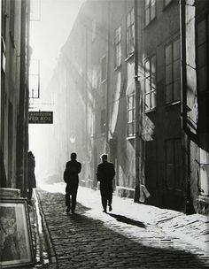 Dirk De Herder The Old City, Stockholm, 1951 Thanks to luzfosca