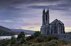 Dunlewy Church - Anne.Berger - The ruins of church Dunlewy in the Irish County Donegal.  The photo was taken early in the morning. My husband an I toured Ireland for 20 days with heavy rain on 18 days. -  http://ift.tt/2f4bzTk IFtemppicpinned in Building blocksdownld in ios #November 13 2016 at 09:02AM#via IF