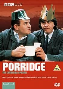 Enjoying a cosy night in watching the Porridge Christmas Specials with Ronnie Barker and Richard Beckinsale