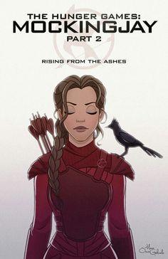 Fan art Katniss Mockingjay part 2