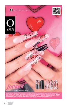 27 Fervent Melisa Rocha / Promaster Organic® Nails Diseño publicado en la revista Lo Mejor No. 27 de Organic® Nails.   http://youtu.be/PmSGBYCtbeE?list=PLVzihPafxEExC2nJKSEILapAPeIDz54Pv