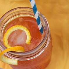 Fizzy Old Fashioned