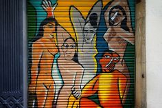 Graffiti in Barcelona by Lost and Found Travel, via Flickr