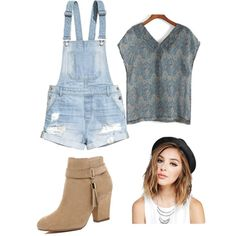 country cute. by annikasallie on Polyvore featuring polyvore fashion style H&M River Island Wet Seal country
