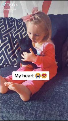 Cute Baby Cats, Cute Little Baby, Cute Little Animals, Cute Funny Animals, Kittens Cutest, Cute Funny Baby Videos, Cute Funny Babies, Funny Animal Videos, Funny Cute