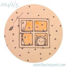 雪。 49 snow Hedgehog Drawing, Hedgehog Pet, Cute Hedgehog, Hedgehog Illustration, Cute Illustration, Kawaii Drawings, Cute Drawings, Doodle Art Journals, Little Doodles