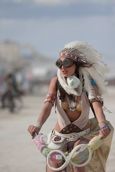 fashion for bicycle - proposed by Burning Man 2015