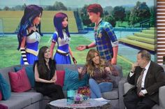Sofia Carson talks about wicked world