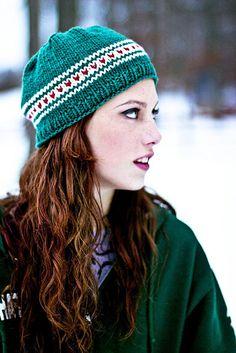 Free knit hat pattern on ravelry