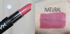 NYX Matte Lipstick in Natural