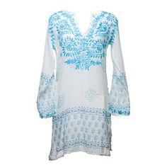Blue St. Tropez Tunic by Raj Imports