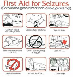 What to do when someone has a seizure