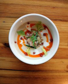 Celery Root Soup from Austin's Foreign & Domestic