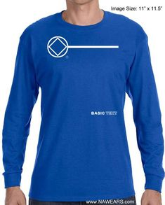 100/% Pure Narcotics Anonymous Select Your Color S-5X Graphic T